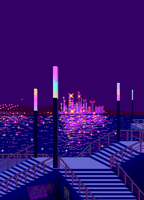 Waterfront gif by lordratchezlath