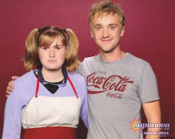 Me and Tom Felton by Tora-Luv10