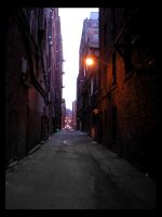 Seattle Alleys II by Choucism