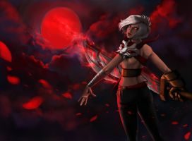 BloodMoon Riven by Yggdrasile