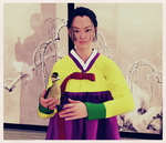 Girl and duckling by Ktoya