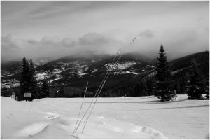 Snow Storm from Peak 9 by ShaunJersey