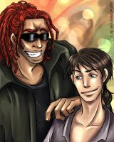 Raffa and Demian by M-I-D-S
