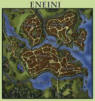 Eneini Map by pyrandon