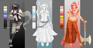 01-Color-Adoptables AUCTION CLOSED by ilAyanami-sato