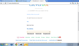 Oh Cleverbot~ by alinoravanity