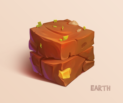 Earth cube by Firrka