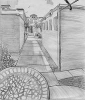 Perspective sketch 1 by Myselfsama