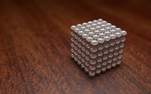 3D Render of Bucky balls by morphemedias