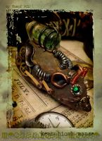Steampunk mouse 01 by DemonViridian