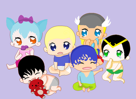 Super babies! by kimpossible0598