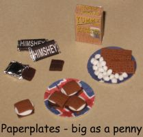 Miniature Smore Set by BloodyPopcorn