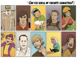 Favourite character meme by TheScatterbrain