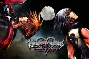 Kingdom Hearts 3D Wallpaper: Full Moon by AzuraJae