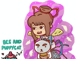 Bee And Puppycat by Stberrylove