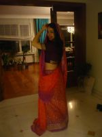 Indian Girl Stock 2 by Harpist-Stock
