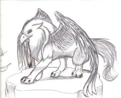 griffin by DemiRaven