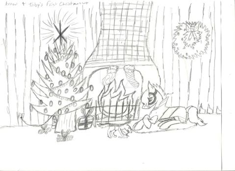 First Christmas (MLP) by Solar-Galaxy-Prime-4