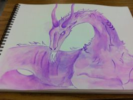 Capricorn Watercolor by passiveApothecary