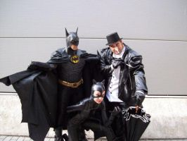 Batman team cosplay by LordJoker88
