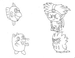Kirby Characters 3 by Dancrew2010