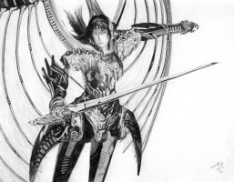Legend of Dragoon Rose Drawing by iceSylum