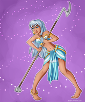 Queen's Crown - Kida by AerianR