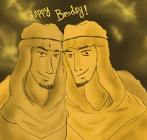 Pewdiepie_Happy Broday! by Abecedye