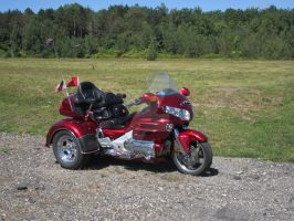 Three Wheeler Motorcycle by canona2200