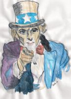 My try on Uncle Sam by Salriella