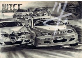 Bmw Vs Alfa by RACING-IS-MY-LIFE