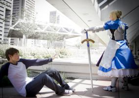 Fate/Stay Night Cosplay by HatterSisters