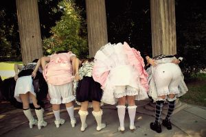 Bloomers by NocturneGothicLolita