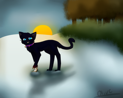 :P.C.: Scourge in the Snow by ghost--scarves