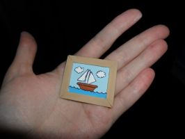 The Simpsons Accessories: Boat Painting by kayanah