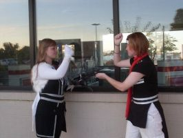 Reflective cosplay 3 by basslinekagamine