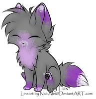Tiny fox adoptable (taken) by Silversadopts