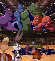 Space Jam The Monstars Back Into The Nerdlucks by dlee1293847