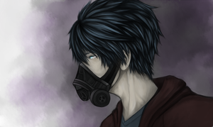 Gas Mask by Fafrotsky