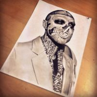 Zombie Boy by dazzbishop