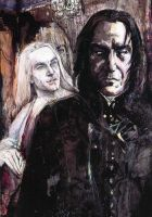Lucius - Snape: An invitation by ElenaTria