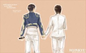 WONKYU : Hand in Hand by rixal