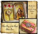 Day of the dead altar box by grimdeva