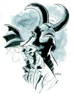 Hellboy Commission by BrianChurilla