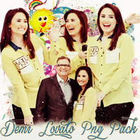 Pack png 235 Demi Lovato by MichelyResources