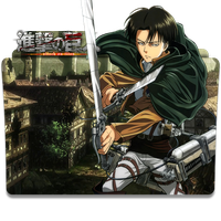 Shingeki no Kyojin v2 (Levi) - Icon Folder by ubagutobr