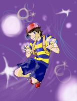 Ness Is a Teenager by milkyway4386