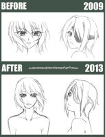 sketch. before and after II by maioceaneyes