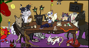 One Last Tea Party by Songdog-StrayFang