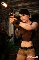 Lara - Thug Corner 2 (PortraitVersion) by Hubby72